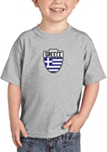 Greece - Country Soccer Crest Infant/Toddler Cotton Jersey T-Shirt