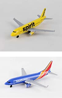 Daron Spirit, Southwest Airlines Diecast Airplane Package - Two 5.5