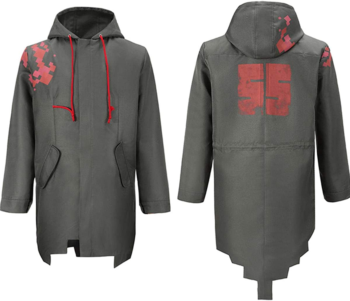 Weixu Nagito Komaeda Cosplay Complete Free Shipping Green Hoodie Jacket Super intense SALE Danganronpa Cos