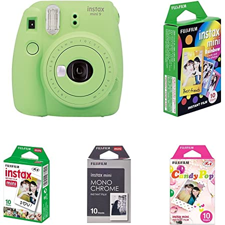 Fujifilm Instax Mini 9 Kamera Lime Grün Mit Film Box Kamera