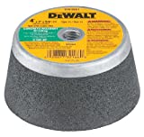 DEWALT Concrete Grinding Wheel, Steel Backed Cup, 4-Inch (DW4961)