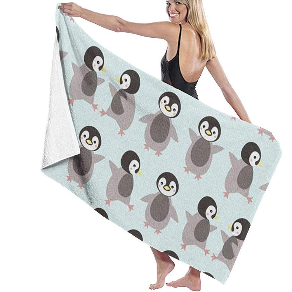 Dora Will Toalla de Playa Pingüino Lindo Manta de Playa Grande Secado rápido Toalla sin Arena Extra Absorbente Adicional: Amazon.es: Hogar