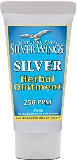 Natural Path Silver Wings Silver Herbal Ointment, 0.75 Fluid Ounce