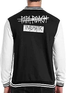 Papa Roach Rock Band Mens Womens Sport Baseball Uniform Jacket Coat Sweater Coat