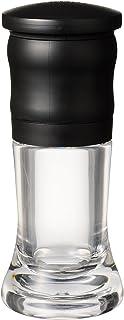 京セラ ミル 手動 45ml セラミック スパイス ペッパー 結晶塩 粗さ調節 分解洗浄 OK ブラック Kyocera CM-10N-BK