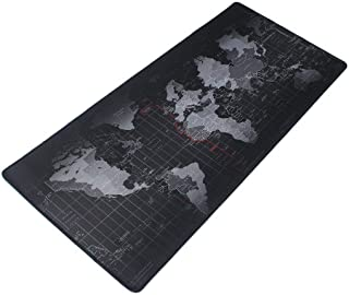 World Map XXL Extended Non-slip Rubber Gaming Mouse Pad (90cmx40cm)