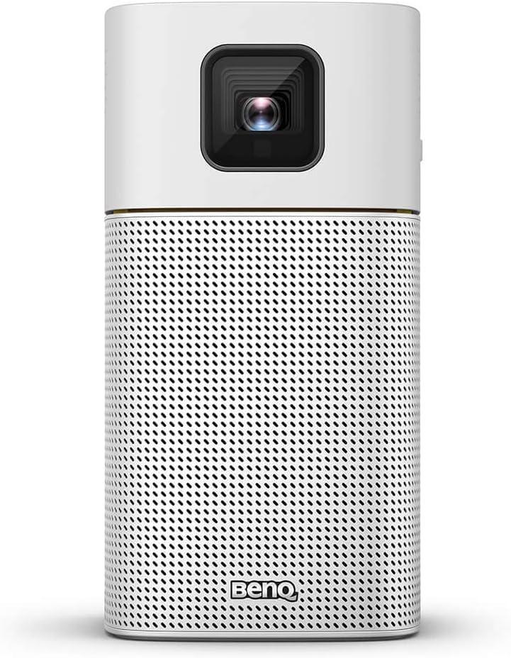 Miniproyector portátil inalámbrico BenQ GV1, Google Cast y AirPlay, altavoz Bluetooth, Wi-Fi (o pantalla inalámbrica), USB-C, conectividad HDMI, batería