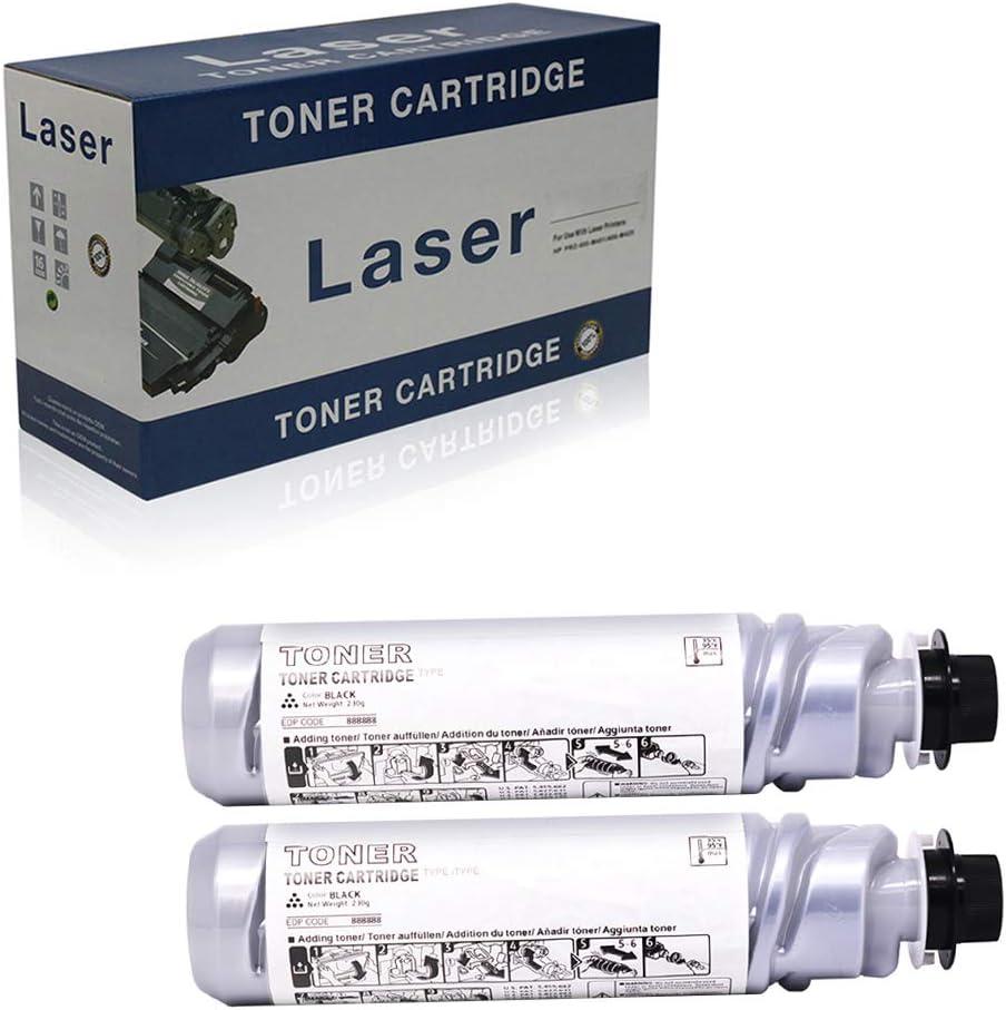 Compatible Toner Cartridges Replacement for Ricoh MP2014C for Use with Ricoh Aficio MP2014C MP2014D MP2014AD MP2014EN Printer,Black,2 Pack