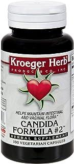 Kroeger Herb Candida Formula #2 100 Cap
