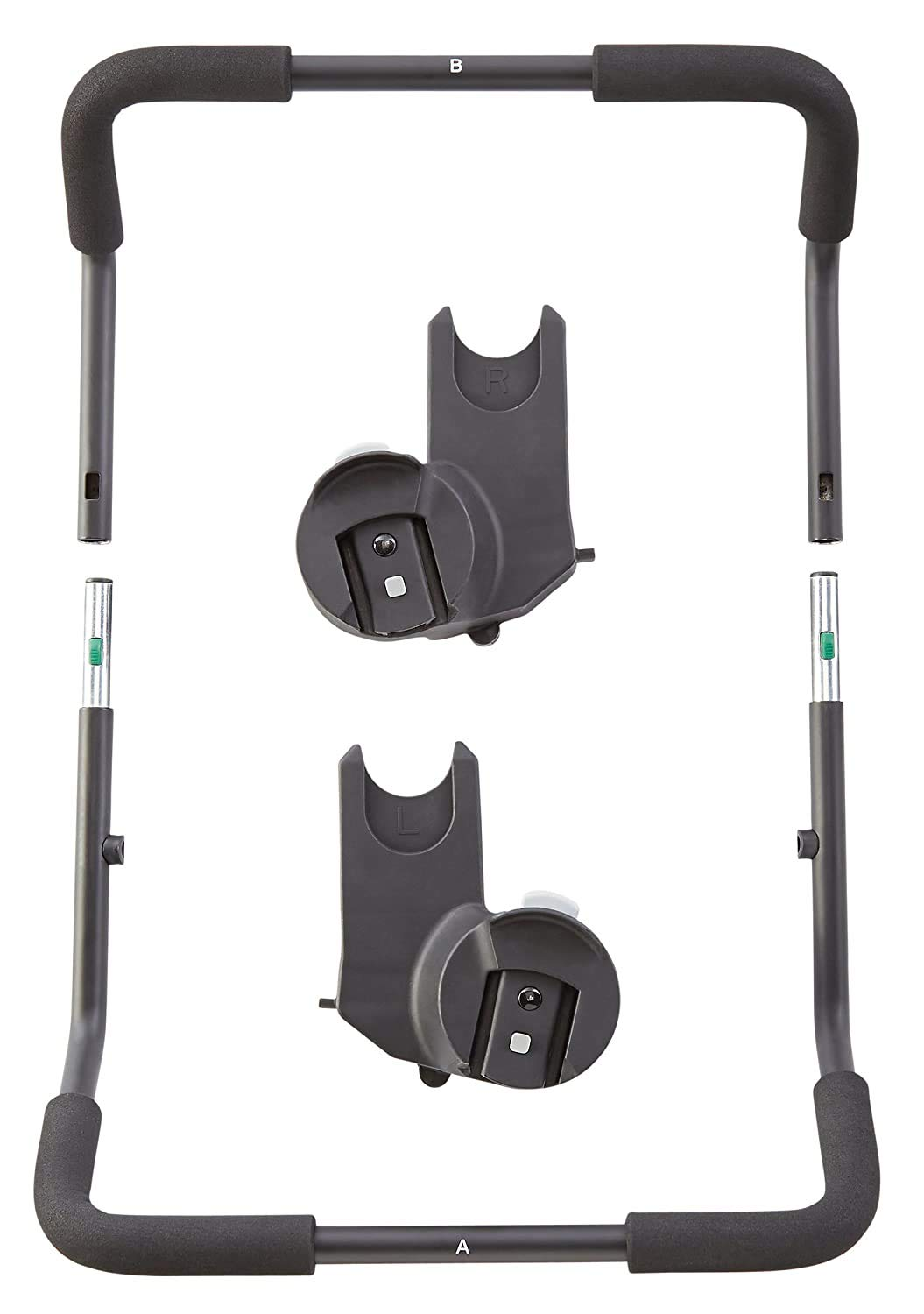 Baby Jogger Chicco/Peg Perego Car Seat Adapter for City Select and City Select LUX Strollers, Black