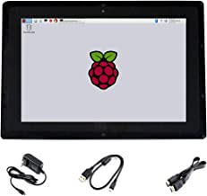 Waveshare 10.1inch HDMI LCD(B) (with case) IPS Touchscreen 1280X800 Capacitive Display Supports Raspberry Pi 3 B/2 B/B+/A+ Banana Pi/Pro BeagleBone Black Supports Multi Systems
