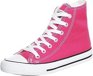 Women's Classic Slip-On Comfort High Top Canvas Flat Fashion Sneaker