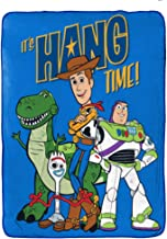 Jay Franco Disney Pixar Story 4 All The Toys Blanket, Blue