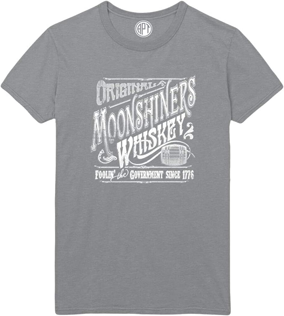 Original Moonshine Whiskey Printed T-Shirt