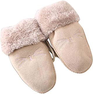Children Plush-Lined Gloves, Winter Warm Mittens for Kids(3-8 Years Old), F05