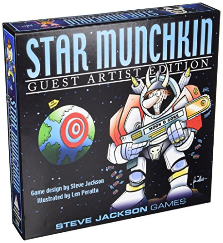 Steve Jackson Games SJG01518 Kartenspiel Star Munchkin Guest Artist Edition