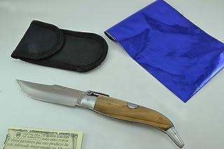 Couteau Celaya Classic Albacete Aluminium Bois Olivier 8 cm