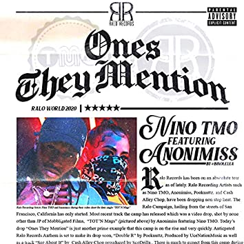 Ones They Mention (feat. Anonimiss)