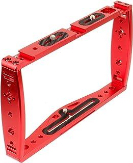 DSLR Video Rig Cage Handheld Stabilizer Smartphone Clamp Camera Cage Fit voor GoPro Max 9 8 7 Fit voor Insta360 Één R-came...