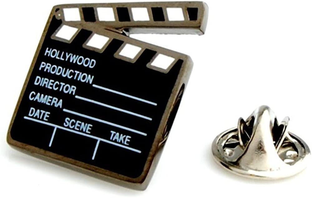 Sale Procuffs Clapperboard Director Film Cast Kansas City Mall Gift Ta Lapel Pin Movie