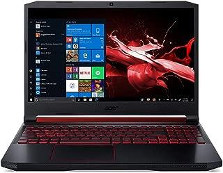 "Acer Nitro 5 AN515-54-76FH Gaming Laptop, Intel® Core™ i7-9750H, 15.6"" FHD IPS Inch, 1TB HDD + 128GB SSD, 12GB RAM, NVIDIA® GeForce GTX™ 1650, Win10 Pro, Eng-AraKB, Black"