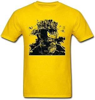 SAMMA Men's Royce Da 5'9 Design Cotton T Shirt