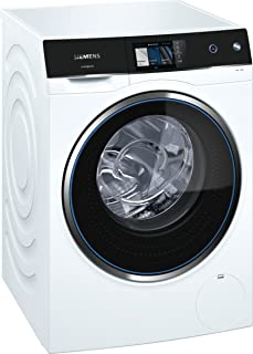 Siemens iQ500 WM14U840EU Independiente Carga frontal 10kg 1400RPM A+++ Negro, Blanco - Lavadora (Independiente, Carga fron...