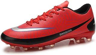 Fotbollsskor, pojkar tjejer slitstarka AG-spikar, andningsfotbollsskor, andningsbara skor, halkfria sneakers stor storlek