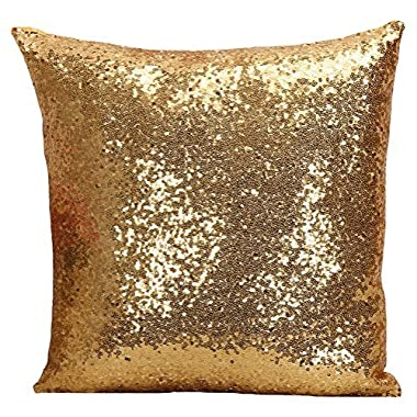 Multi-size Glitter Sequin Cushion Cover LivebyCare Satin Sparkling Throw Pillow Case Sham Pattern Zipper Pillowslip Pillowcase For Decor Decorative Home Sofa Bedroom