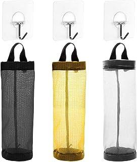2 Pezzi Porta Sacchetti di Plastica Porta Sacchetti della Spesa Sacchetti Portaoggetti Appesi Organizer per Sacchetti di Spazzatura per Ufficio Spese Viaggio Bomboniera Cucina Casalinga