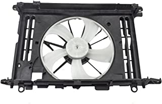 Dual Cooling Fan Motor Shroud Assembly Replacement for 08-12 Ford Escape 08-11 Mercury Mariner SUV 6 cyl 8L8Z8C607B