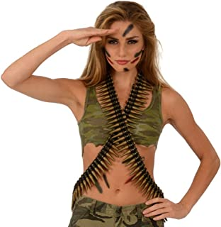 army bullet belt costume