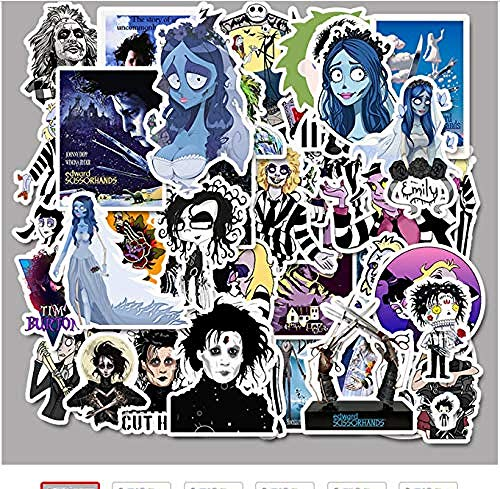 YRBB 50 stuks stickers, klassiek, zelfklevend, graffiti, voor fiets, skateboard