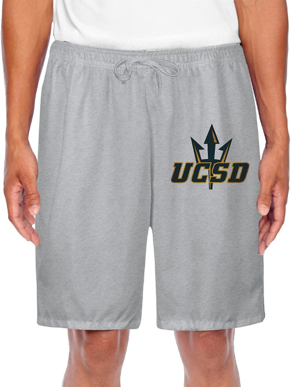 Men's University Of California San Diego UCSD Logo Shorts Gym