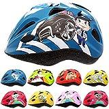 Skullcap® Casco de bicicleta para niños para patinetes urbanos, longboard, scooters
