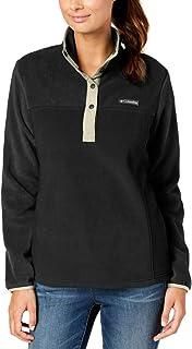 Columbia Womens Black Winter Cold Weather Casual Fleece Jacket Coat M Bhfo 7546