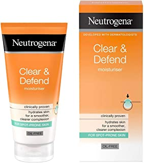 Neutrogena Clear and Defend Moisturiser, 50 ml