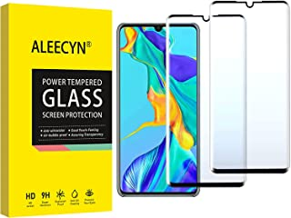 (2 Pack) Compatible for Huawei P30 Pro Screen Protector, Full Screen Coverage, 9H Hardness HD,3D Curved Edges, Easy Instal...