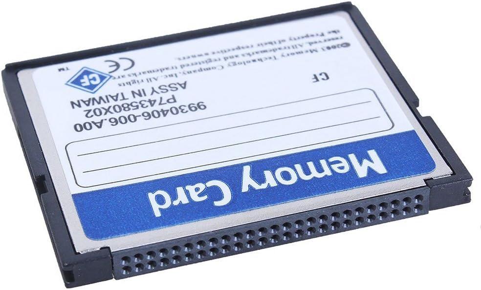 Bianco E Blu Iycorish Professional Scheda di Memoria Compact Flash da 16 GB