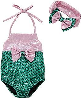 Baby/Toddler Girl Swimsuit one-Piece Children Kids Baby Girls Sleeveless Bikini Beach One Piece Swimsuit Swimwear