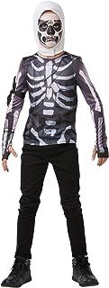 Rubie's - Official Costume - Fortnite-Disguise Top + Official Fortnite Skull Trooper Hood - Large - 164 cm