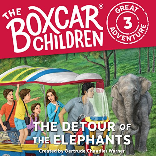 The Detour of the Elephants audiobook cover art
