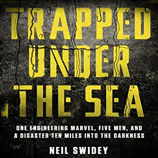 Trapped Under the Sea audiobook cover art