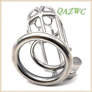 GKWJD-Chástí-ty Belt Cock Lock Stainless Steel Hypoallergenic Ergonomic Design Vǐrgínìty Bêlt Anti-Off Cǎge Restraint T-Shirt Guard Ring Master Men Panty (Size : 45mm)