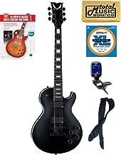 Dean TB STH BKS Thoroughbred Stealth Black Electric Guitar w/EMG's, Book Bundle