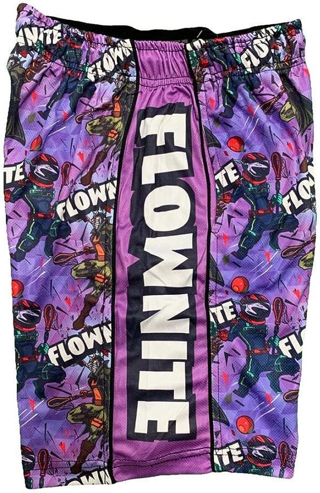 Flow Society Boys' Green Flownite Boys Athletic Shorts - Boys Gym Shorts