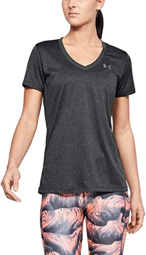 Womens Short Sleeve Ladies T Shirt Ultra-Light and Breathable Running Apparel for Women Tops Solid Color V Neck Tee Shirt Long Hem Casual Summer Tops Blouse Outdoor Sports Hiking /& Casual 2020