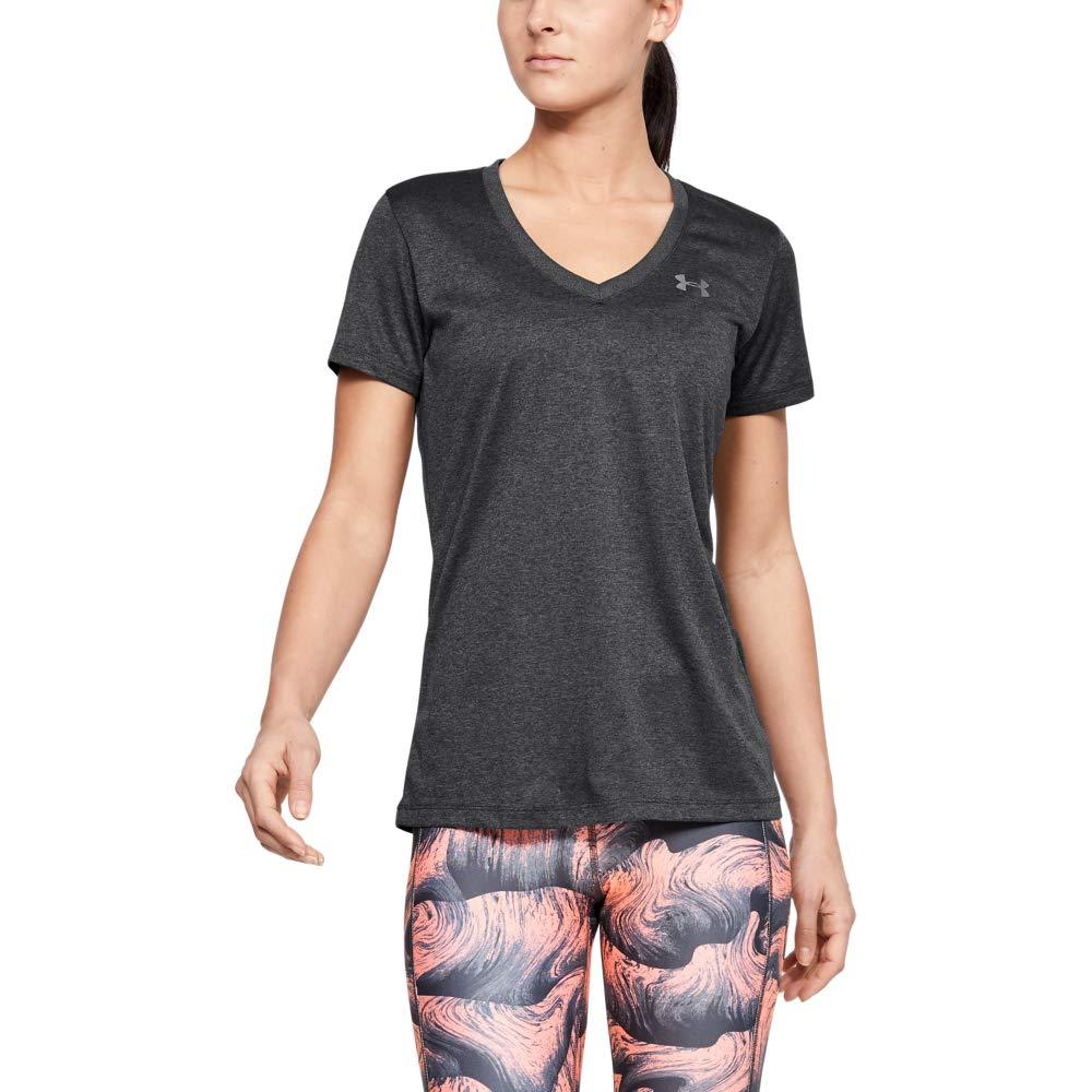 Under Armour 安德玛 女式 Tech SSV 健身T恤 4面弹力面料制作 轻质透气跑步服装