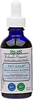 Richard's Organics Pet Calm - Naturally Relieves Stress and Anxiety in Dogs and Cats - 100% Natural, Drug-Free, Settles Ne...