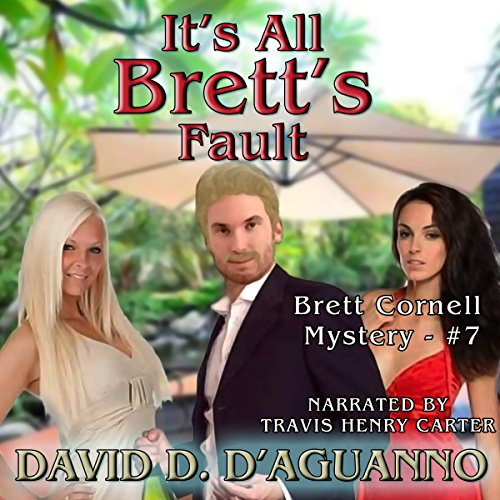 It's All Brett's Fault audiobook cover art